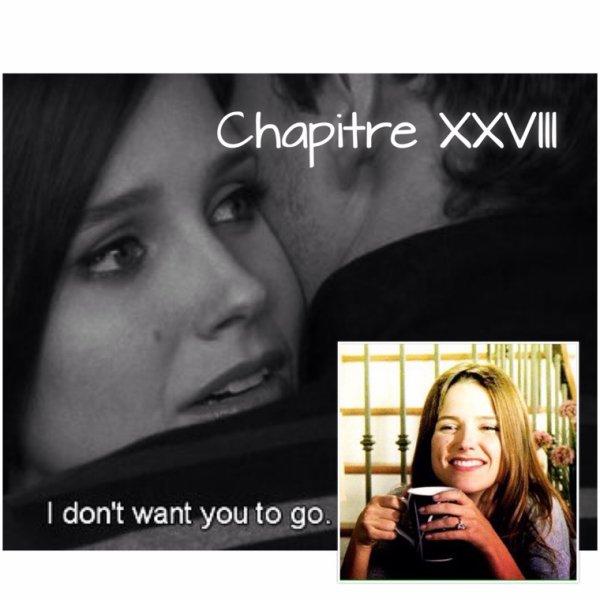 Chapitre XXVIII : La destinée n'est pas une affaire de chance, c'est une affaire de choix