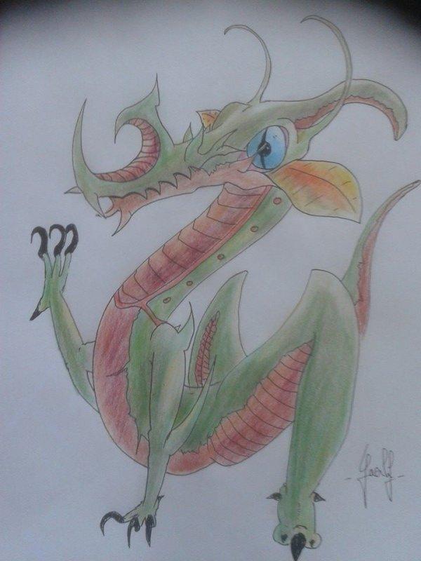 Mes petits monstres 112 ( en couleur) .