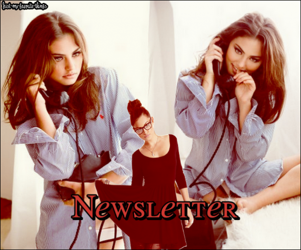 Newsletter                          ||||                             with Phoebe Tonkin