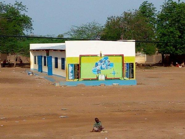 C'est ici que j'ai commencé mon école primaire en 1993 le temps passe ci vite !!! C'est DIEU qui Est FORT???