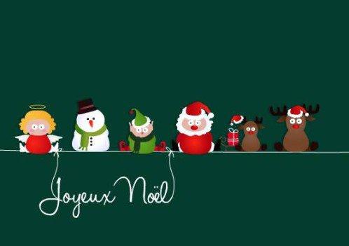 Joyeux Noël ,  Merry Christmas , Fröhliche Weihnachten.
