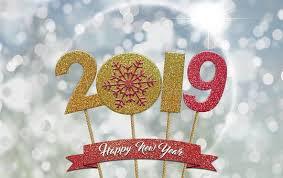 2019. Un nouvel an ....pour un nouvel élan. Happy New Year.