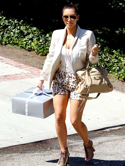 Kim & Kourtney Kardashian Celebrate at Mel B's Baby Shower  Saturday July 30, 2011
