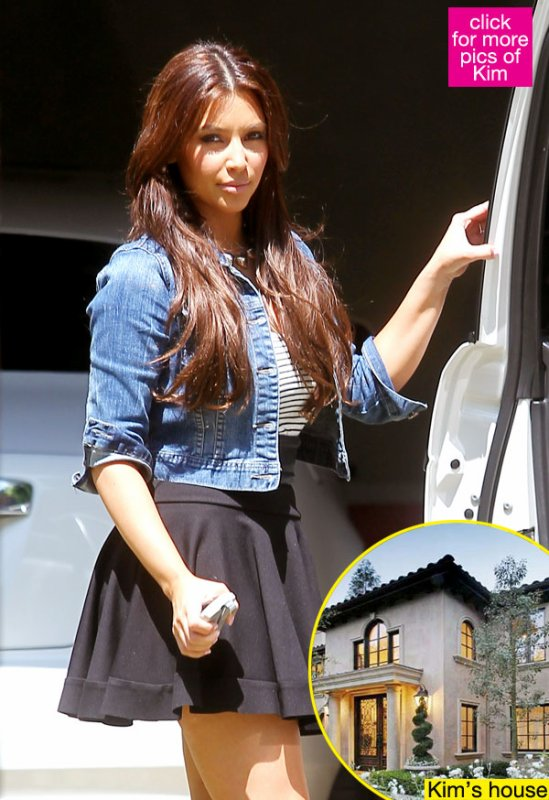 August 1st, 2011  Kim Kardashian Says: My Fans Make Me Feel Scared & Violated So I'm Moving!