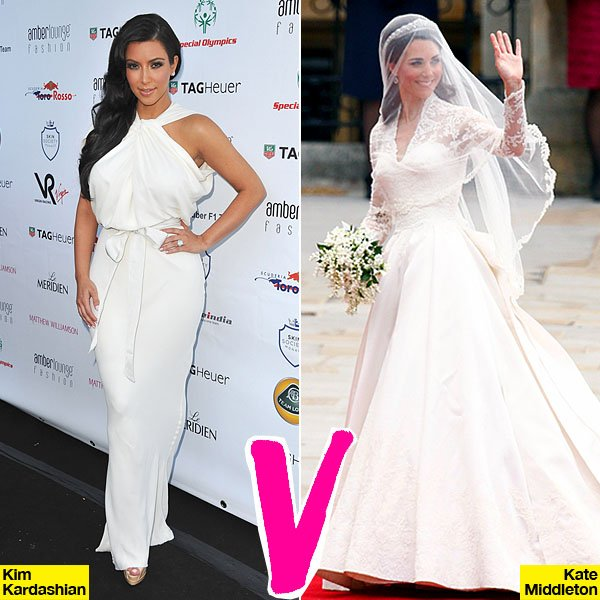 Battle Of The Brides: Kate Middleton Vs. Kim Kardashian — Who Is Sexier?