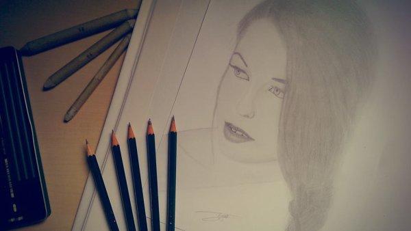 Le dessin, une passion.