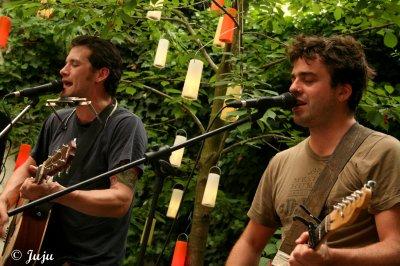 4.06.11 : Colin Moore & Gaëtano - Auberge de Jeunesse Jacques Brel - Bruxelles (B)