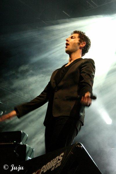 22.07.11 : Francofolies de Spa (Be) : Sur la Grande Scène : Aaron.