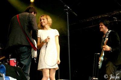 12.08.11 : Brussels Summer Festival (Be) : Mont des Arts: Stéphanie Crayencour.