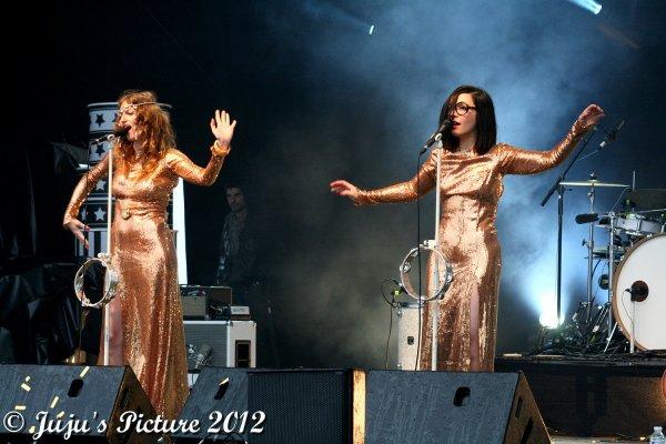 5.05.12 : Inc'Rock Festival : Sarah Carlier & Amandine Bourgeois & Claire Denamur & Brigitte & Jali - au Cirque Royal - Bruxelles (B)