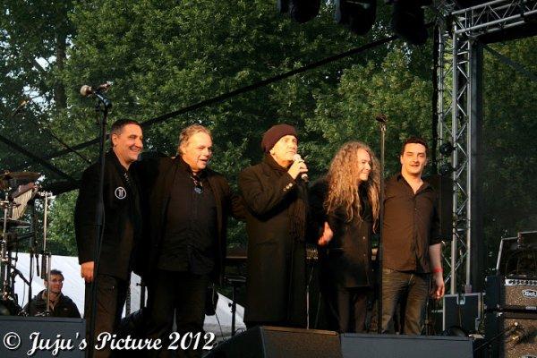 24.06.12 : Machiavel & Suarez- au Eol'Music Days - Perwez (B)