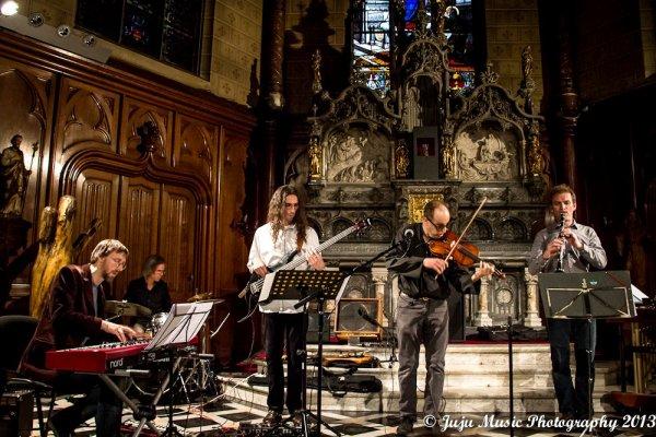 27.04.13 Renaud Lhoest Septet - à La Chapelle des Ateliers Fucam - Mons (B)