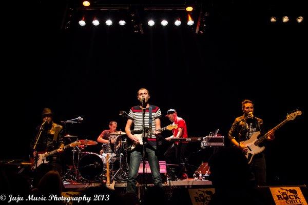 23.11.13 : Abel Caine - Dalton Télégramme - Von Durden - au Rock&Chill Festival - Soignies (B)