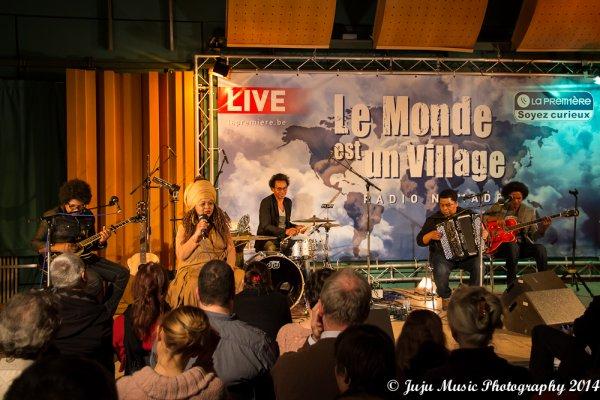 6.02.14 : Lala Njava - RTBF Le Monde est un Village - Bruxelles (B)