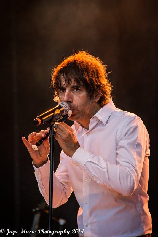 22.06.14 : Thomas Fersen - à la Fête de la Musique au Cinquentenaire - Bruxelles (B)