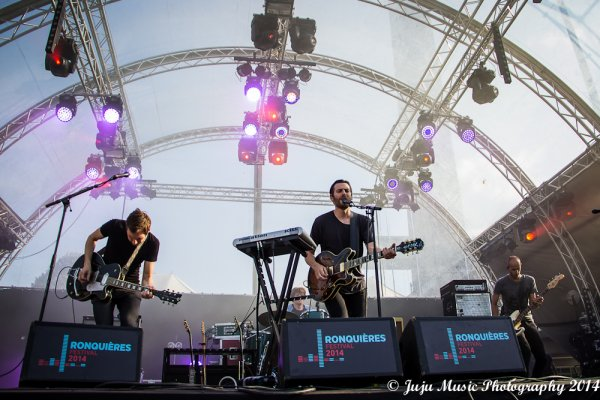 2.08.14 :  Ronquières Festival 2014 (Be) : Bastian Baker, Birdpen, Julien Doré, Puggy.