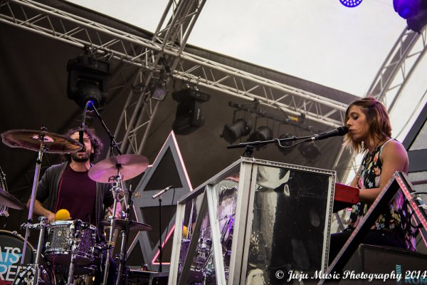 3.08.14 :  Ronquières Festival 2014 (Be) : Intergalactic Lovers, Cats on Trees, Ben l'Oncle Soul, Suarez.