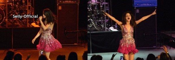 Le 24/07/11: Selena Gomez Concert à l'O.C. Foire