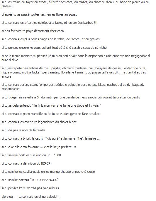 Saint Gervais le Cartel 30 5GRV !!! La bonne époque ! :)