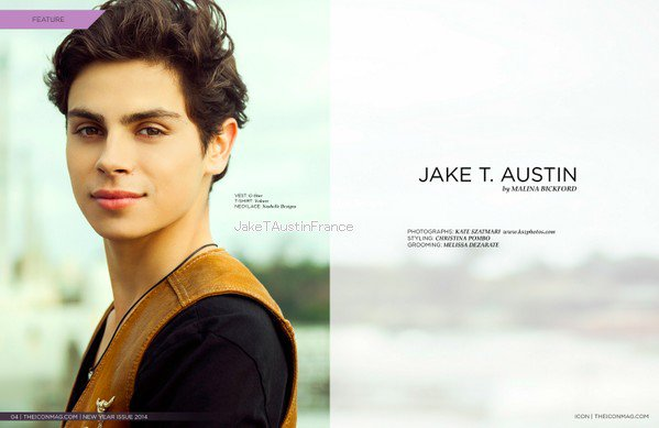 Jake pour Icon Magazine
