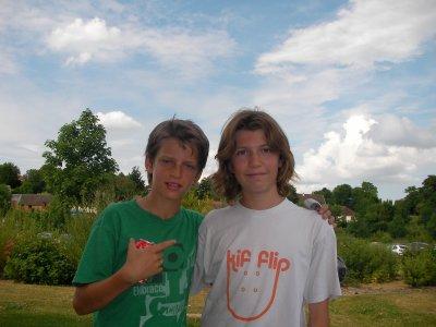 Moi et Axel