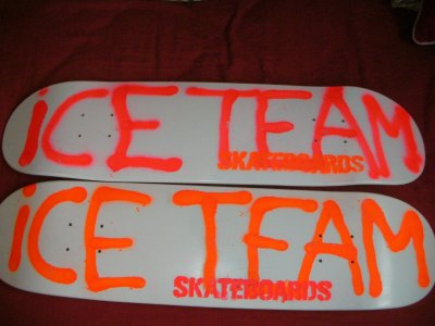 Ice Team Skateboards