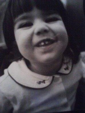 Voyez-vous cette petit tête de jeune enfant? C'était moi il y a bien longtemps...