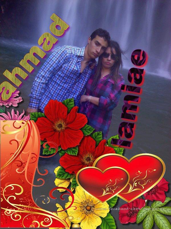 ahmad love L A M