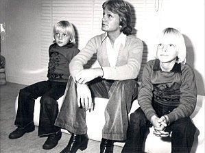Marc, Claude et Coco, la fierté d'un père.