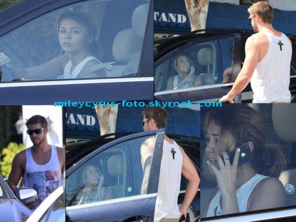 Miley et Liam passent la journée ensemble !