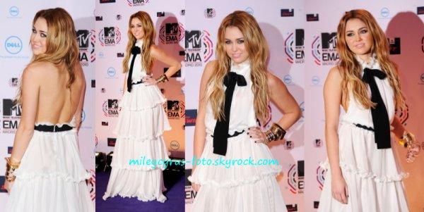 Miley est ce soir en direct pour les MTV EMA !