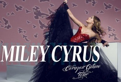 Un poster promotionnel de la tournée de Miley !!!