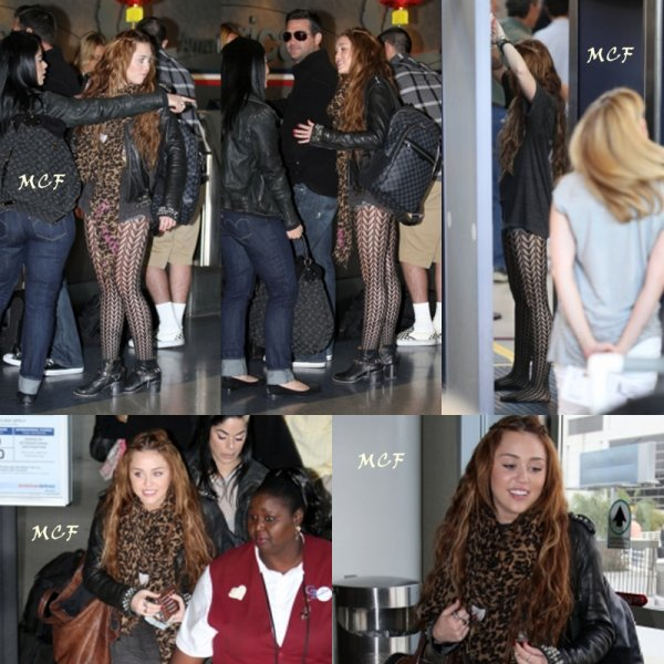 Miley s'est envolé vers Chicago pour participer à l'émission d'Oprah Winfrey, qui sera diffusée le 13 avril.