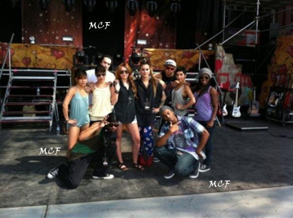 Miley en soundcheck au Pérou !!!