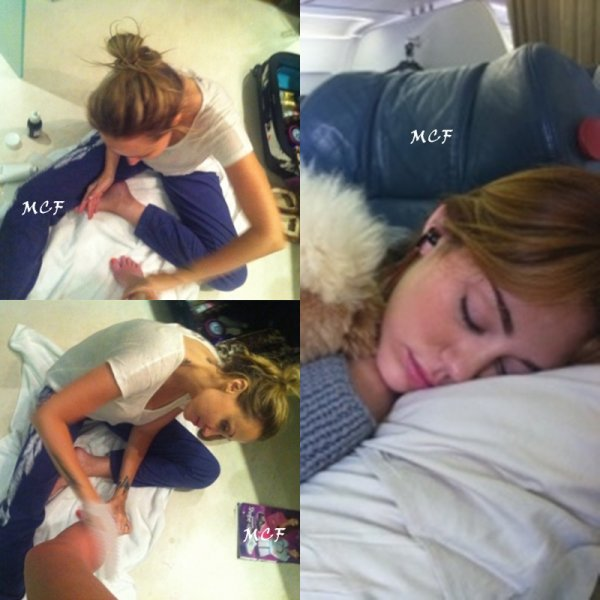 Miley passe la Fête des Mères avec Tish !!