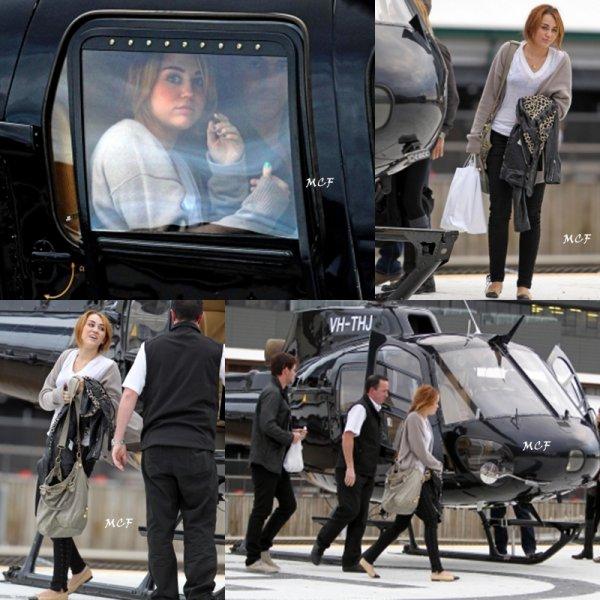 Miley rend visite à la famille de Liam !!!