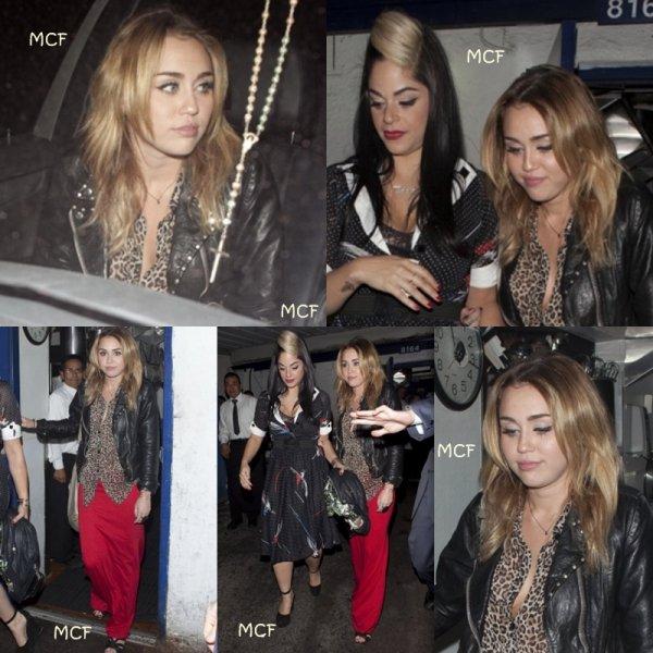 Miley à l'anniversaire de Kelly Osbourne !!!
