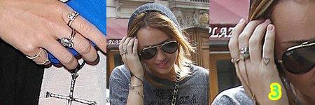 Dans la famille Cyrus, pratiquement chaque membre a son (ou ses) tatouages. Assez âgée désormais, Miley s'est elle aussi accordée ce plaisir. Mais plus que le côté esthétique, Miley préfère s'en servir comme un moyen de transmettre des messages pleins de significations. Elle a ainsi révélé que jamais elle ne se fera faire un tatouage qui n'a aucun sens !!!