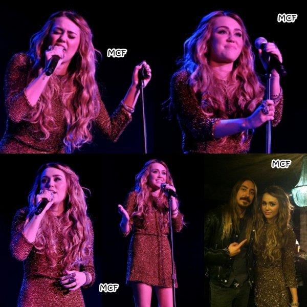 Miley au Trevor Live 2011 !!!
