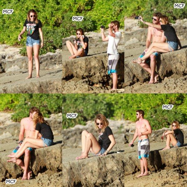 Miley & Liam à Hawaii !!!