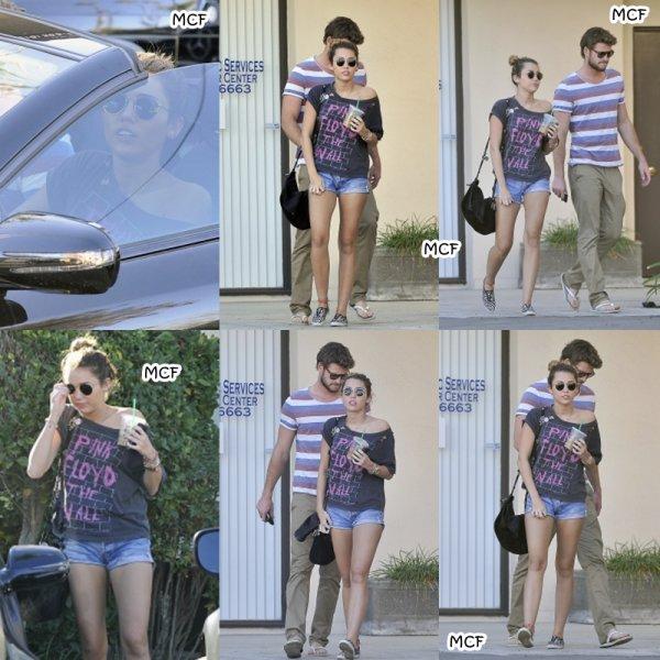 Miley et Liam chez un dermatologue !!!