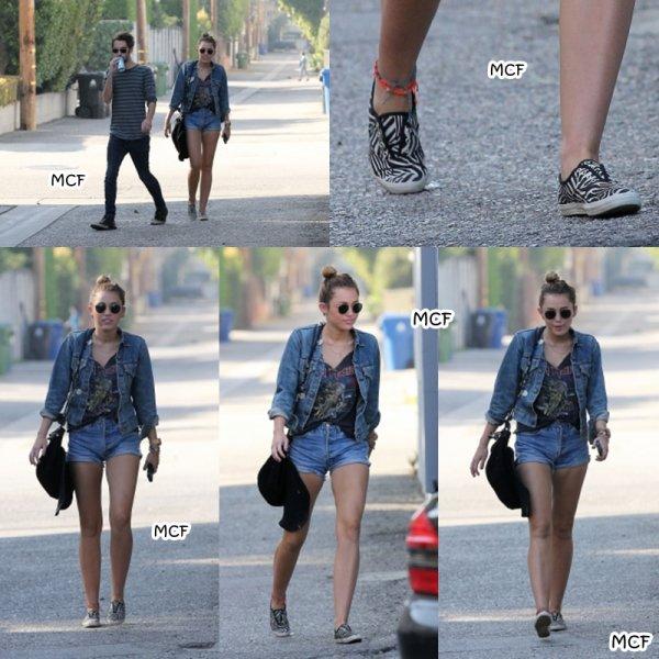 Miley et Cheyne à Toluca Lake !!!