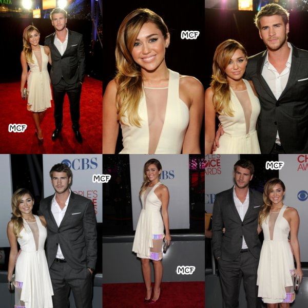 Miley aux People's Choice Awards 2012 !!!