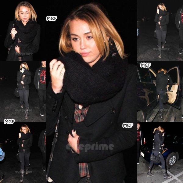 Miley au LA Observatory !!!