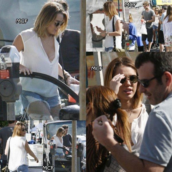 Miley au marché !!!