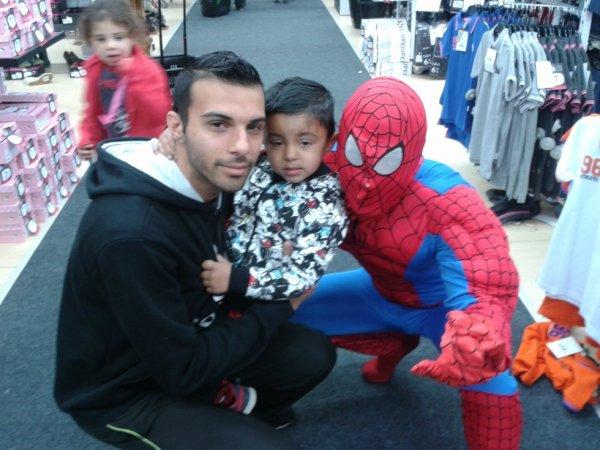 moi et mon pere et spiderman