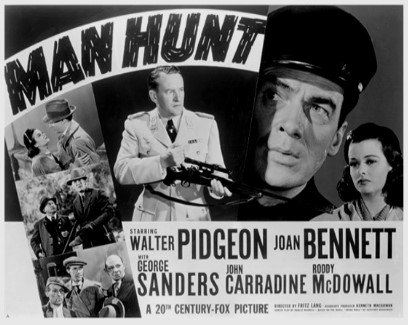Man Hunt , de Fritz Lang .