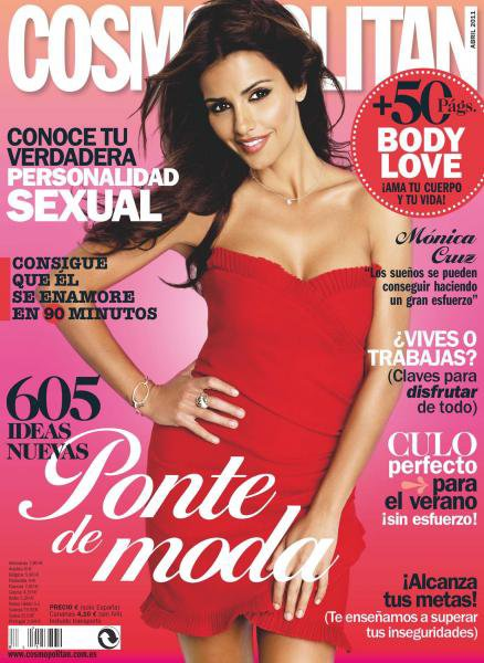 ~ Moni qui fait la couverture d'un nouveau magazine Cosmopolitan