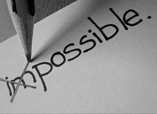 Ce qui est difficile n'est pas forcément impossible