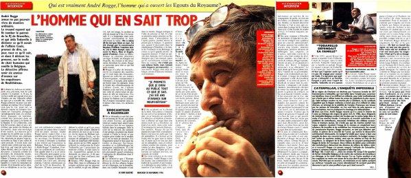 L'homme qui en sait trop (« Soir illustré » du mercredi 20 novembre 1996 pages 32 ; 33 et 34)